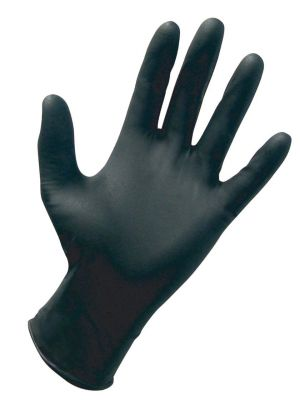 Nitrile PF Exam Gloves, XL BK