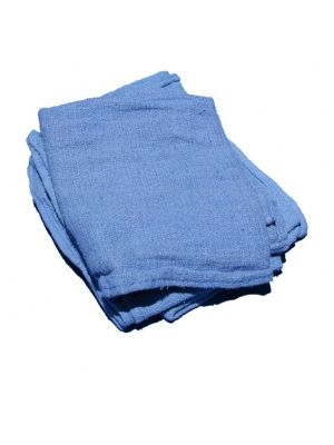 Blue Surgical Rags, 10lb Box